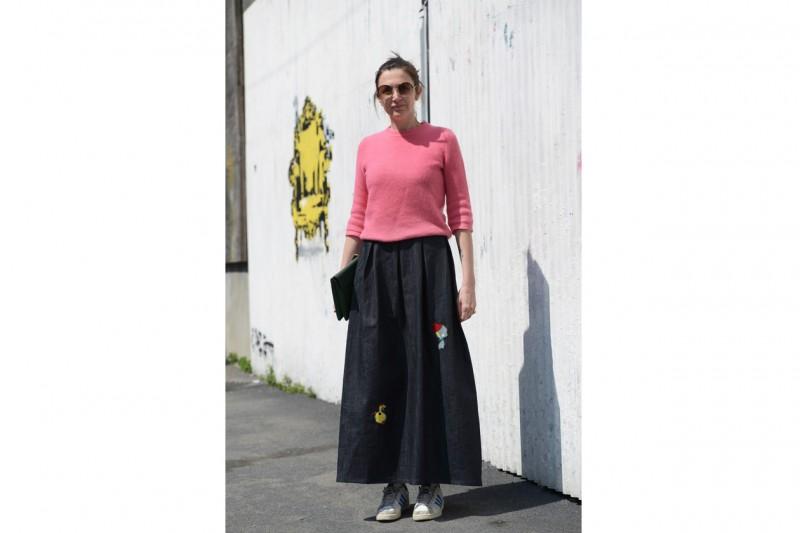 rosa jeans