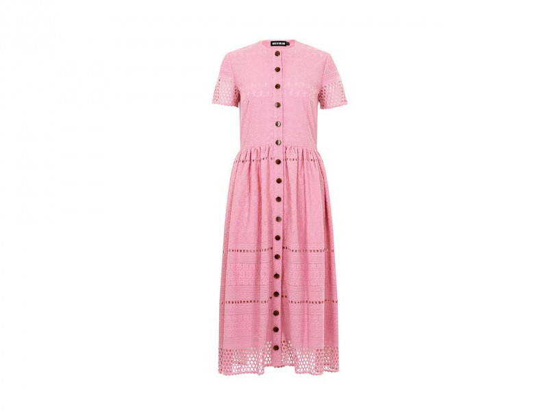Abito in cotone rosa: House of Holland