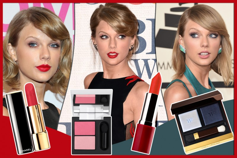 TAYLOR SWIFT MAKE UP: I BEAUTY LOOK PIù BELLI