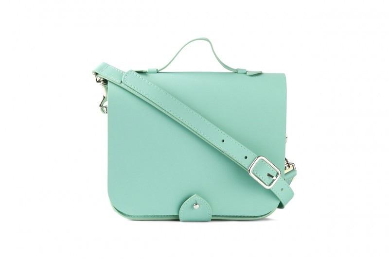 Borsa satchel con patta: YMC
