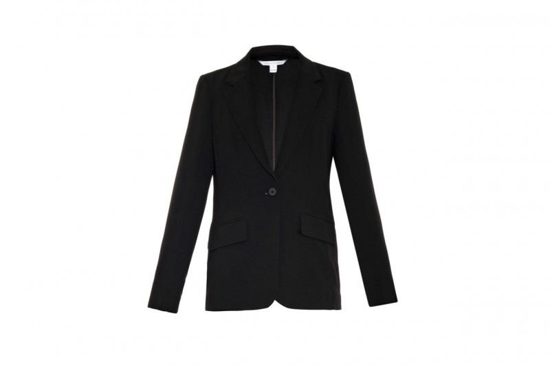 Accessori maschili per uno stile androgino: blazer Diane von furstenberg