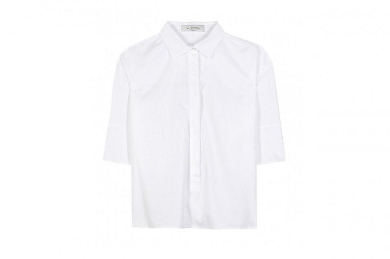 Accessori maschili per uno stile androgino: camicia maschile valentino