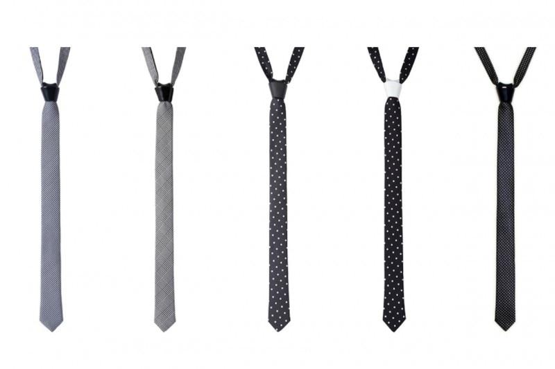 Accessori maschili per uno stile androgino: cravattino cor sine labe doli