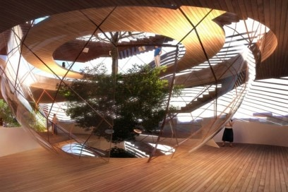 L' Azerbaijan Pavilion