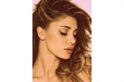Belen Rodriguez trucco: eyeliner nero