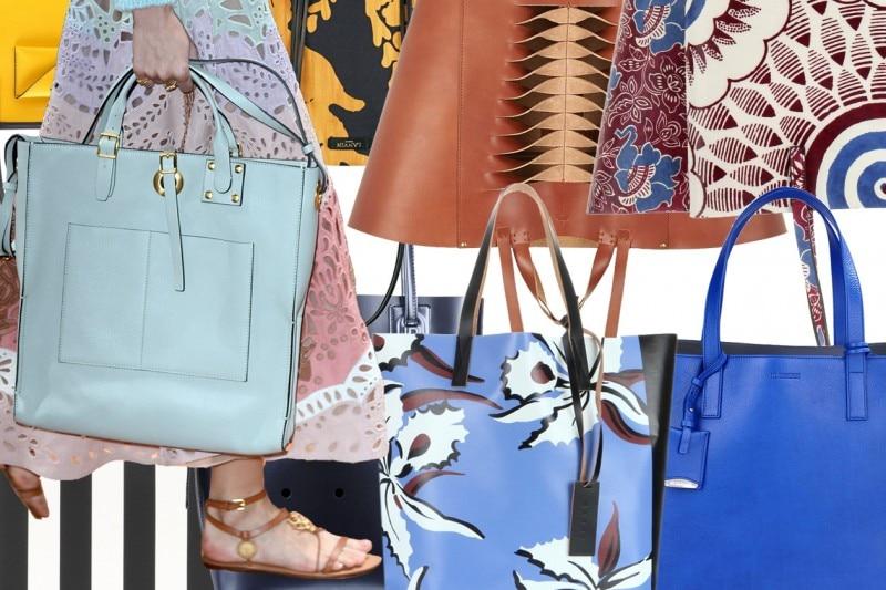 Borse shopping, le tendenze per l'estate 2015