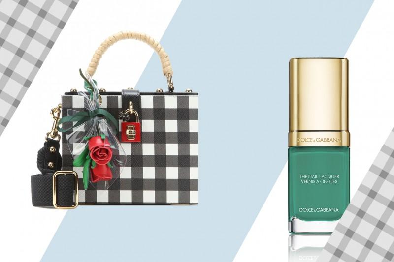COME ABBINARE TRUCCO E QUADRETTI VICHY:  Dolce & Gabbana