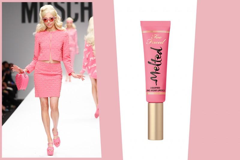 COME RICREARE IL LOOK DI BARBIE: labbra rosa dal finish vinilico