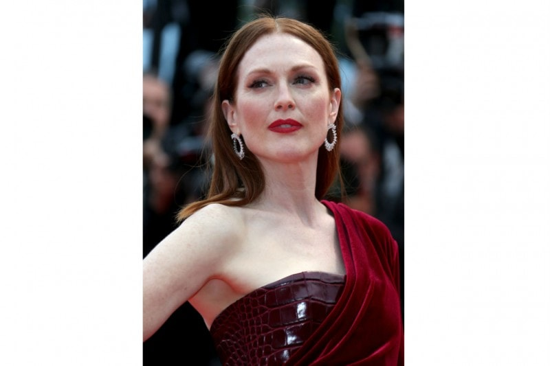 Cannes 2015 trucco e capelli: Julianne Moore