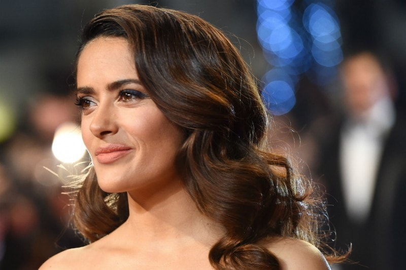 Cannes 2015 trucco e capelli: Salma Hayek