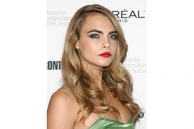 Cara Delevingne trucco: make up shimmer