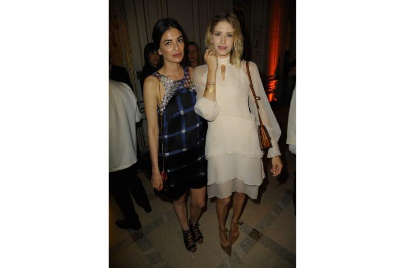 Cash & Rocket Milan Leila Yavari and Lena Perminova