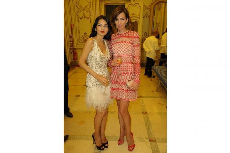 Cash & Rocket Milan Yasmin Mills and Nieves Alvares
