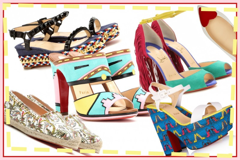 Christian Louboutin: le scarpe per la Primavera-Estate 2015