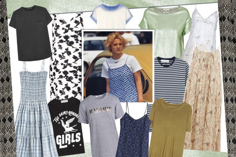 Come abbinare vestiti camisole a t-shirt in cotone