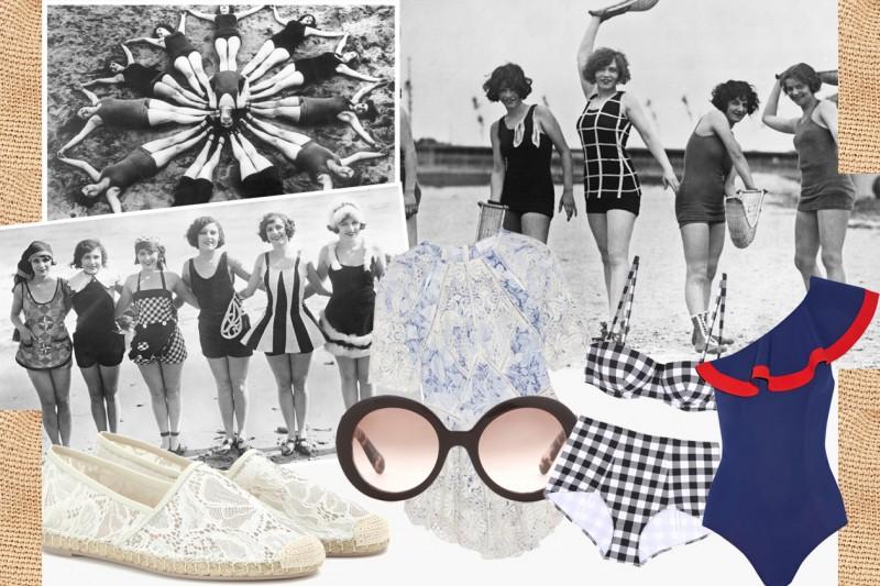 Costumi e capi beachwear in stile retrò, le tendenze per l'estate 2015