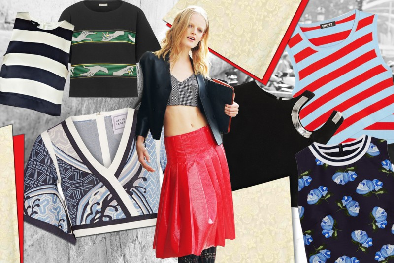 Crop top: le tendenze per l'estate 2015