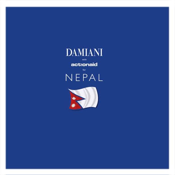 """""""Damiani for Nepal"""", l'iniziativa charity per sostenere il Paese stravolto dal terremoto"""