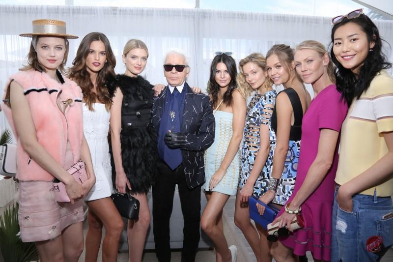 FENDI by Karl Lagerfeld book presentation Cannes 2015