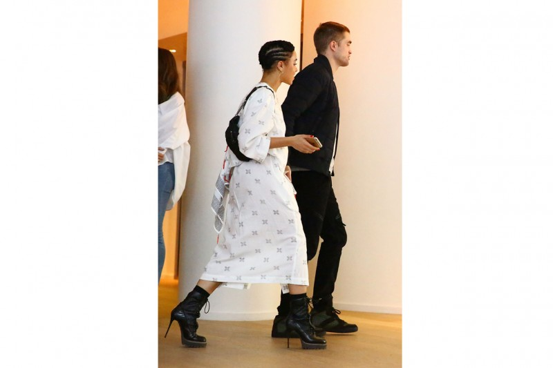 FKA Twigs e Robert Pattinson