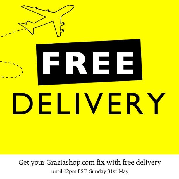 Fate shopping su Graziashop: spedizione gratuita fino al 31 di maggio!