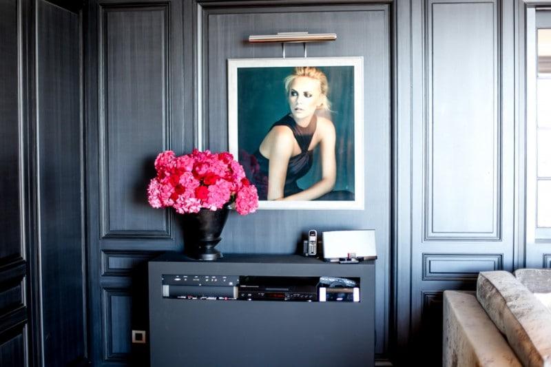 Foto dei volti Dior escluive per la Suite