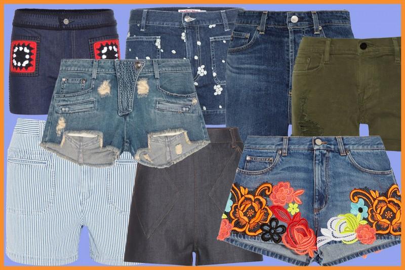 Gli shorts in jeans per l'estate 2015: tutte le tendenze