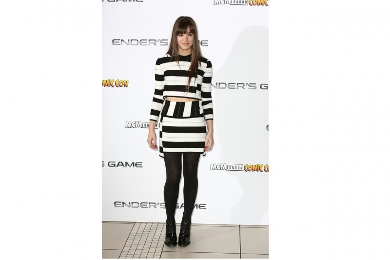 Hailee Steinfeld: in completo black&white Thakoon Addition