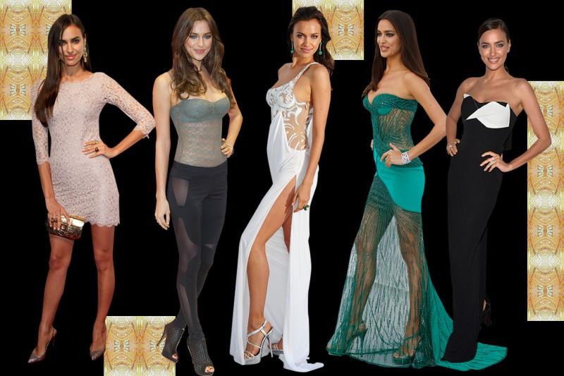 I look promossi e bocciati della top model Irina Shayk