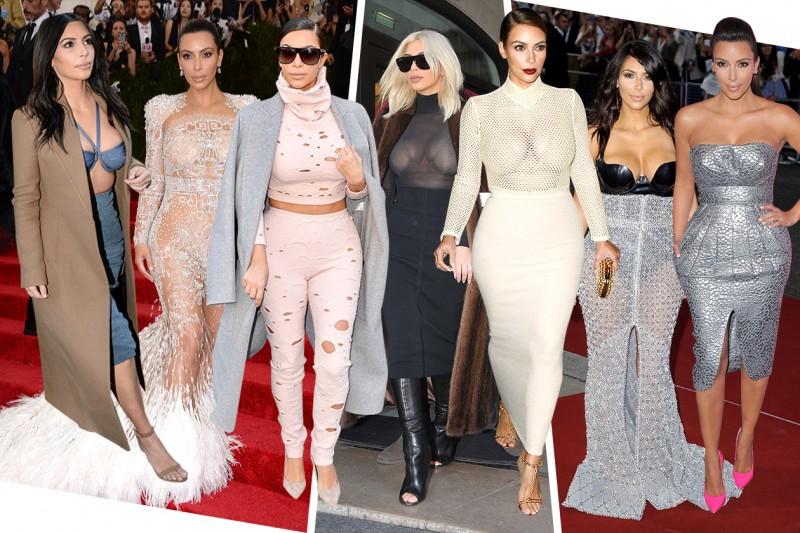 I look stravaganti di Kim Kardashian