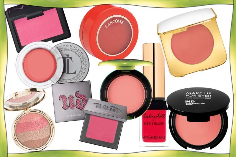 I migliori blush dell'estate 2015: scopriteli con la selezione di Grazia.it
