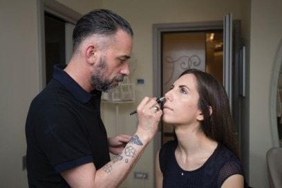 Il make up radioso e nei toni naturali