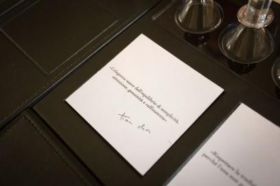 Il percorso olfattivo accompagnato dai quote di Christian Dior