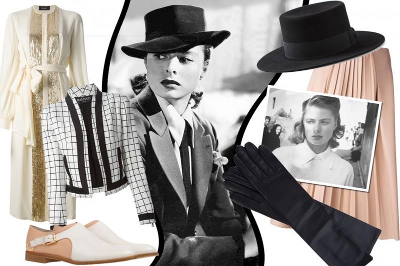 Ingrid Bergman e lo stile anni 40