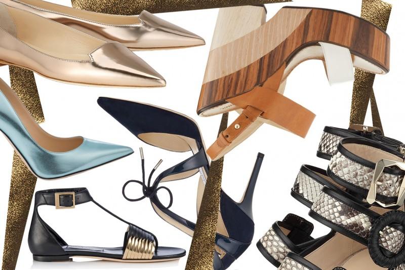 Jimmy Choo: le scarpe per l'estate 2015