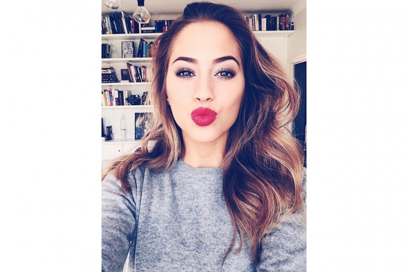 KENZA ZOUITEN BEAUTY LOOK: RED LIPS