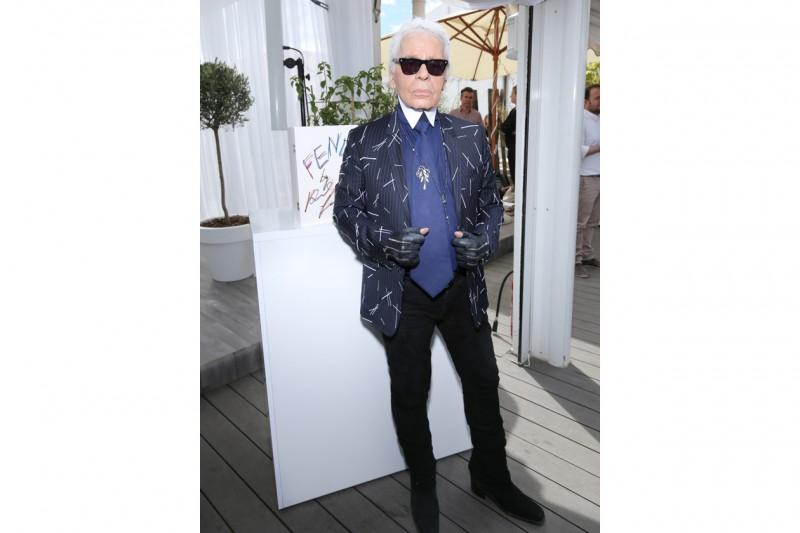 Karl Lagerfeld @FENDI by Karl Lagerfeld book presentation Cannes 2015