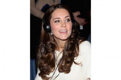 Kate Middleton make up: glossy brown smokey eyes