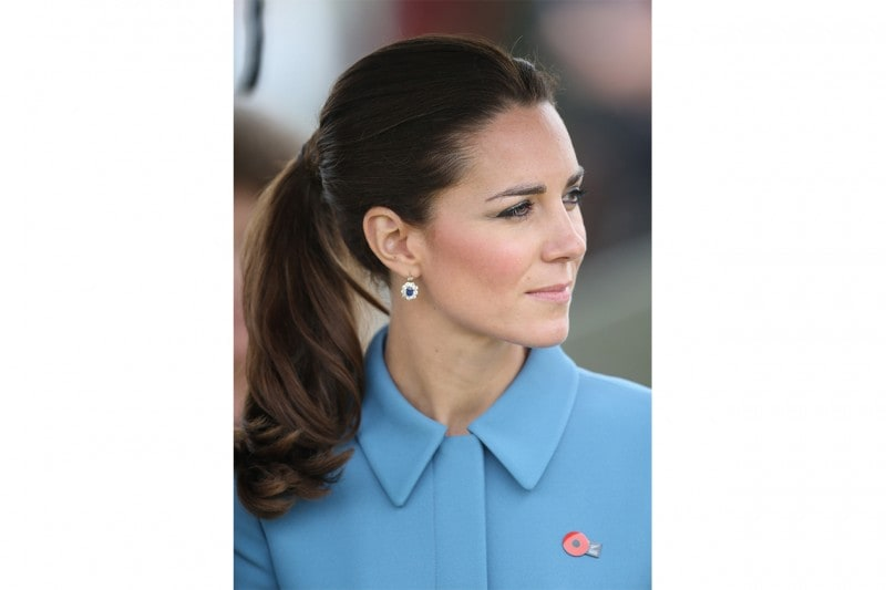 Kate Middleton make up: ombretto grigio viola metallizzato