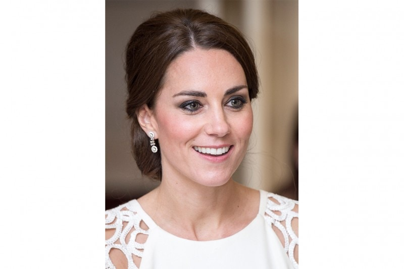 Kate Middleton make up: smokey eyes marrone e nero