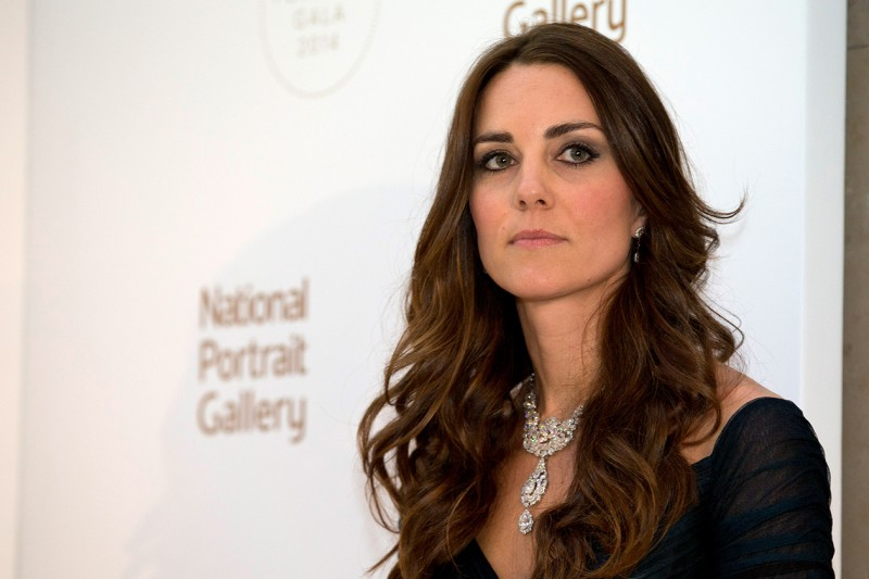 Kate Middleton make up: smokey eyes marrone freddo