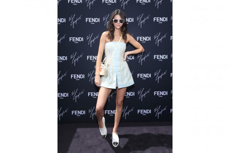 Kendall Jenner @FENDI by Karl Lagerfeld book presentation Cannes 2015