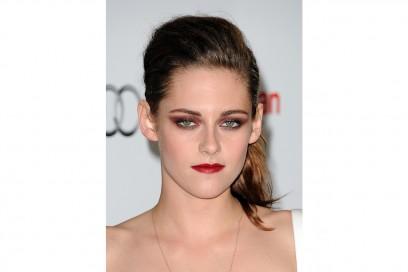 Kristen Stewart trucco: rossetto rosso