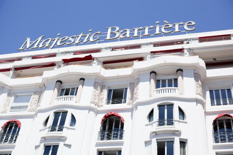 L'hotel Majestic e all'interno la Suite Dior