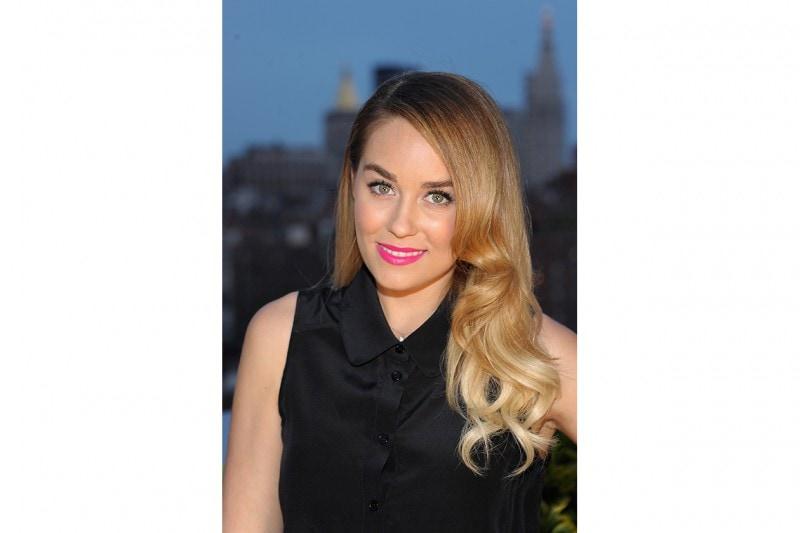 Lauren Conrad capelli: capelli mossi vintage
