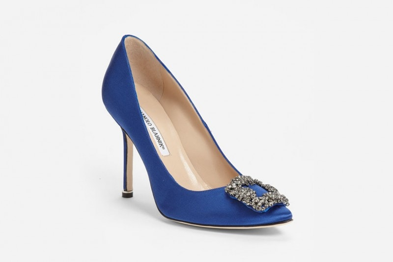 Le pumps Manolo Blahnik