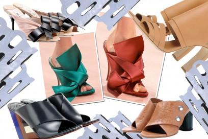 Le scarpe sabot per l'estate 2015, tutte le tendenze