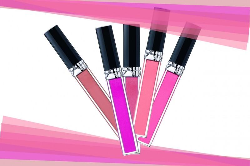 Lip gloss con olio idratante: Rouge Dior Brillant