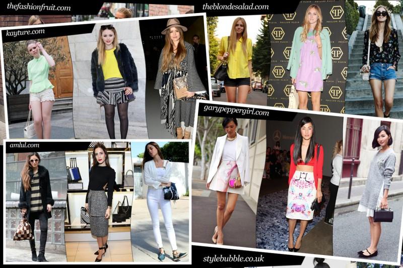 Lo stile delle fashion blogger