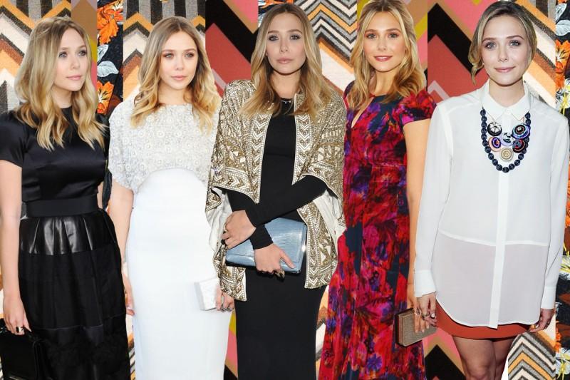 Lo stile di Elizabeth Olsen
